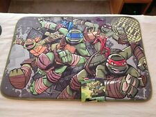 Teenage Mutant Ninja Turtles Foam Bathroom Rug, 20in x 30in, NEW