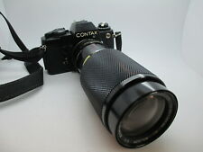 CONTAX 139 QUARTZ 35mm SLR Film Camera with Lens WORKING TESTED