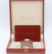 S.T. Dupont No 1359 Silber mit Wellenmuster (c061804)