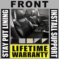 Tan /& Black Front Car Seat Covers Set OEM Bucket 2 Pc Pair Truck SUV H70