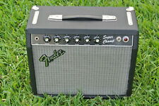 1982 FENDER SUPER CHAMP Rivera Era TUBE AMPLIFIER w EV SPEAKER + FOOTSWITCH F785