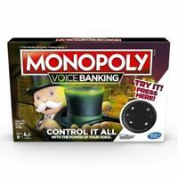 Monopoly voice banking gioco da tavolo Hasbro