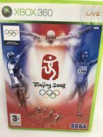 Beijing 2008 Video Game PAL  Sega XBOX 360 Microsoft 2008