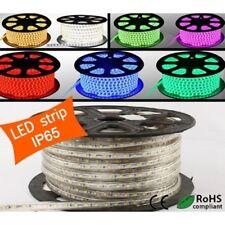 TIRA DE LED RGB 220V SMD 5050 CON MANDO A DISTANCIA IMPERMEABLE IP67 230V 240V