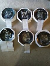 The Hamilton Collection Big Cats Nature's Majestic Set of 6, $150.00