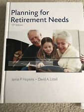 Planning For Retirement Needs (13th Edition) Textbook Hopkins & Littell  w/discs