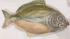 "Chappells Rare  Porcelain Serving Platter   21""L (Fish Shape)"