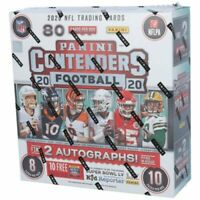 2020 PANINI CONTENDERS NFL FACTORY SEALED FANATICS EXCLUSIVE MEGA BOX IN-HAND