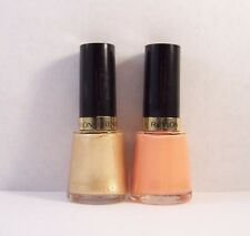 Lot of 2 Revlon Nail Polish Enamel in 805 TEMPTING & 715 PRIVILEGED