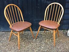 Ercol Elm Dining Chairs For Sale Ebay