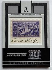 1/1 Dave Keefe 2005 Donruss Signature Stamps Centennial Auto Cleveland Indians