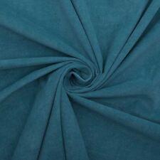 Batix Bleu Sarcelle Velours Doux Peluche Rideau Coussin Papier Peint Tissu