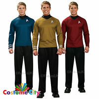 Adults Mens Official Star Trek Into Darkness Shirt Fancy Dress Party Costume