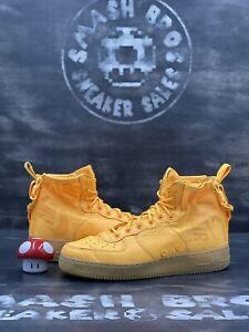 Nike Sf Air Force 1 Mid OBJ 2017 Size 11.5 2017 Yellow Brown Tan 917753-801 Gum