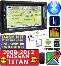 FITS 08-12 NISSAN TITAN GPS NAV CD/DVD BLUETOOTH USB SD AUX CAR RADIO STEREO PKG