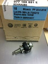 1x New Genuine VW Audi A6 A8 RS6 S6 Touareg Phaeton Valve Cover Bolt 077103831E