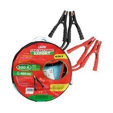 Cavi Batteria robusti 450 cm 12/24v 500a Pinze Isolate Lampa con Custodia
