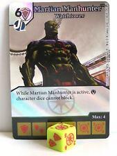 Dice Masters - #066 Martian Manhunter Watchtower Foil - Green Arrow