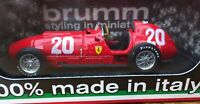 BRUMM R125 FERRARI 375 F1 diecast model race car Alberto Ascari Suisse 1951 1:43