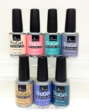 EZFlow TruGel - Gel Nail Polish-  Set of 7 Colors