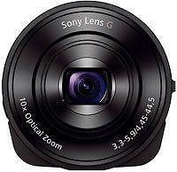 Sony Cyber-shot DSC-QX10 18.2MP Digital Camera - Black