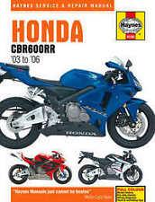 Honda CBR 600 CBR600RR Manual de taller Haynes Manual De Reparación Manual 2003-2006