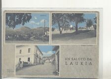 LAURIA   ACQU OPACA  VIAG 1966  SALUTI  3 VEDUTINE +CAMPO SPORTIVO STUPENDA