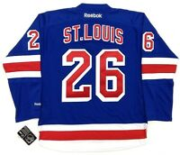 MARTIN ST. LOUIS NEW YORK RANGERS JERSEY REEBOK NHL PREMIER