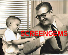 Adventures of Superman TV rare candid press photo George Reeves mint condition