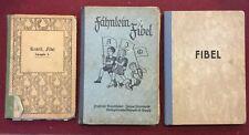 N 3 Libri Di Lettura In Tedesco Per Scuola Elementare 1910/1936/1949