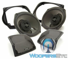 """ROCKFORD FOSGATE TMS69BL14 6""""X9"""" SPEAKERS KIT SELECT 2014 UP HARLEY MOTORCYCLES"""