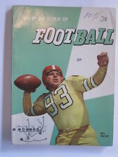 HOW TO STAR IN FOOTBALL 1959 by Herman Masin Oklahoma