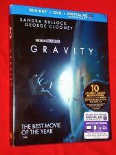 BRAND NEW GENUINE Gravity WS Blu-Ray DVD + UV HD Digital Code Combo Bullock