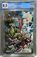YOUNG AVENGERS #11 CGC 8.5 HULK vs THOR Mike Deodato variant edition *NO RESERVE