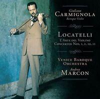 GIULIANO CARMIGNOLA - LOCATELLI: L'ARTE DEL VIOLINO,OP.3  CD NEU LOCATELLI,PIETR