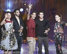 "Teen Wolf MTV Show RP 8x10"" signed autographed Cast Photo #3"