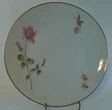 """ROSENTHAL china 3462 """"PINK ROSES"""" pattern DINNER Plate - 9-5/8"""""""