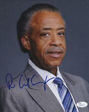 Reverend Al Sharpton In-Person Signed 8x10 Photo w/ Jsa Coa #Q70630