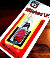 Luhr-Jensen Mister 'J' Chrome Red P-Lite 1/2 ounce Spoon Fishing Lure