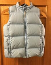 Old Navy Girls Bodywarmer / Gilet, Light Blue, Age 12, Down And Feather Filling