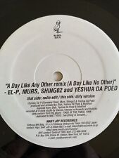 Vg+ El-P Murs Yashued The Poet A Day Like No Other Hip Hop 12� Vinyl 1999 Rap