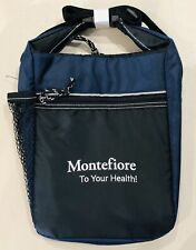 New listing Insulated Cooler Lunch Bag With Adjustable Strap And Bottle Holder