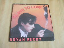 "BRYAN FERRY - SLAVE TO LOVE  (EG MUSIC 7"")"