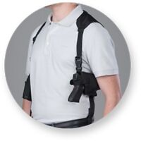 Horizontal Shoulder hand Gun Holster For Glock 17,19,20,21 With Tactical Light