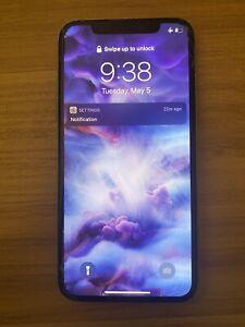 Apple iPhone X - 64GB - Silver (Sprint) A1865 (CDMA + GSM)
