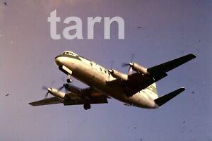 35mm slide aeroplane airplane London  Heathrow Air Lingus Viscount 1960s r190