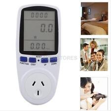 230V AU Energy Meter Watt Voltage Volt Meter LCD Monitor Analyzer Power Factor