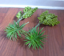 Artificial Succulents Grass 2 Yacon And 2 Mini Pine trees