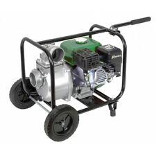 Motopompe 60m3/h, 212cc - 7HP 4 temps, sur roues, Pompe Thermique  - PRMPC212/60