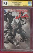 Justice League America 6 CGC SS 9.8 Joe Madureira Black White Poly Top 1 Variant